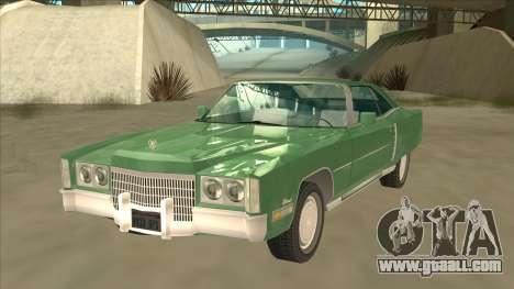 Cadillac Eldorado for GTA San Andreas
