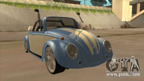 VW Beetle 1969 for GTA San Andreas left view