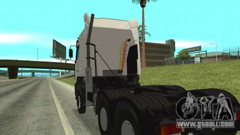MAZ 5440 for GTA San Andreas inner view
