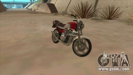Honda CBX400F for GTA San Andreas