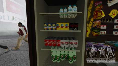 The upgraded kiosks and hot dogovye carts for GTA 4