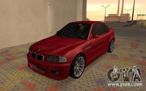 BMW M3 E46 2005 Body Damage for GTA San Andreas