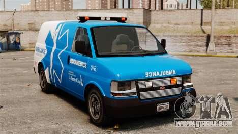 Speedo LCEMS ambulance for GTA 4