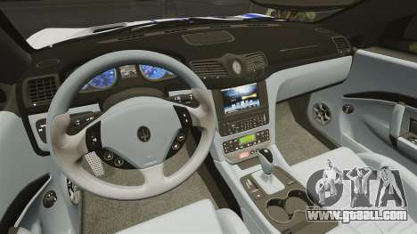 Maserati MC Stradale Infinite Stratos for GTA 4 inner view