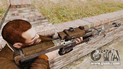 Halo Reach sniper rifle SRS 99 for GTA 4 second screenshot