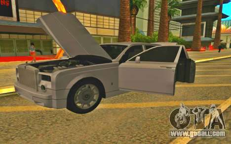 Rolls-Royce Phantom for GTA San Andreas back left view
