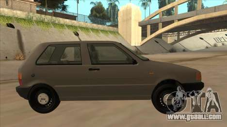 Fiat Uno 1995 for GTA San Andreas back left view