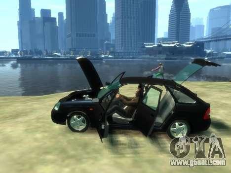 Lada Priora for GTA 4 back view