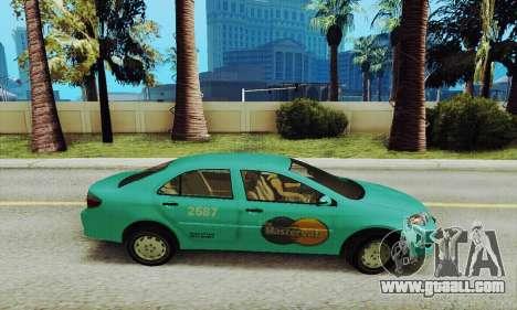 Toyota Corolla City Mastercab for GTA San Andreas left view