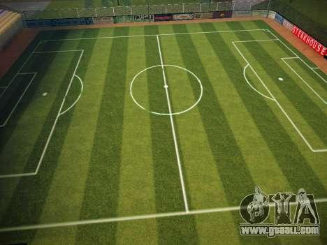 Soccer field for GTA San Andreas third screenshot