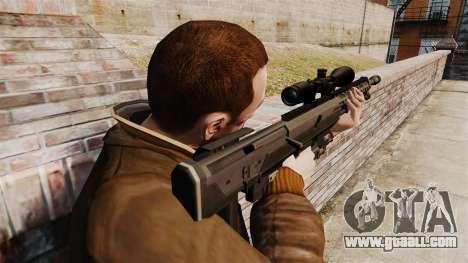 The DSR-1 sniper rifle for GTA 4 second screenshot