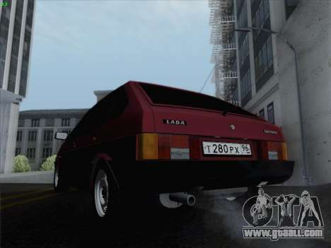 VAZ 21093i for GTA San Andreas side view