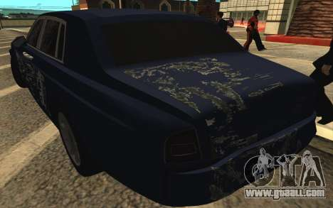 Rolls-Royce Phantom for GTA San Andreas wheels