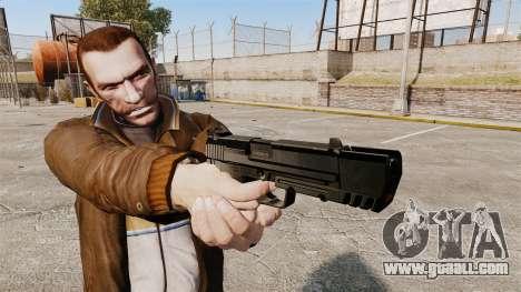 Self-loading pistol H&K USP v1 for GTA 4 third screenshot