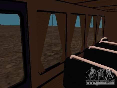 GAZ 66 Watch for GTA San Andreas interior