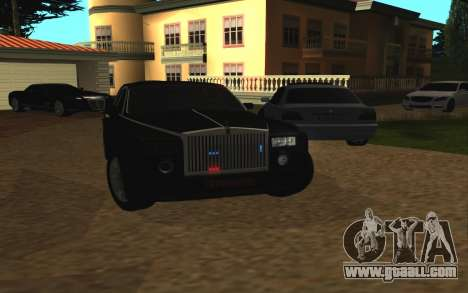 Rolls-Royce Phantom v2.0 for GTA San Andreas back view