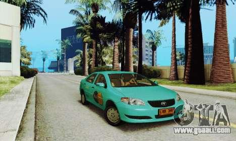 Toyota Corolla City Mastercab for GTA San Andreas