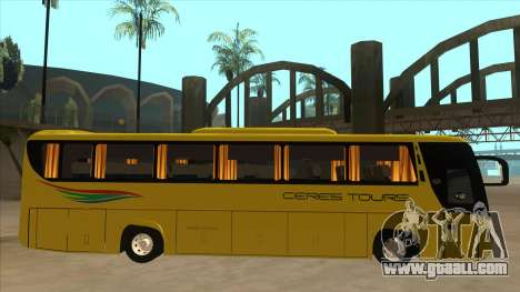 Yanson Legacy - CERES TOURS 55003 for GTA San Andreas back left view