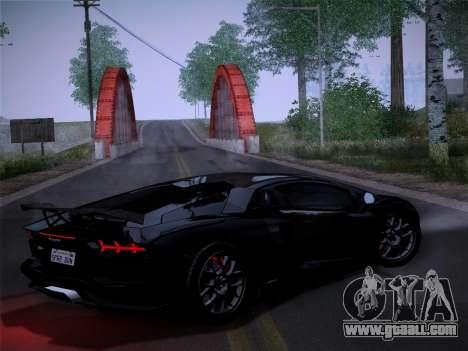 Lamborghini Aventador LP760-2 for GTA San Andreas back left view