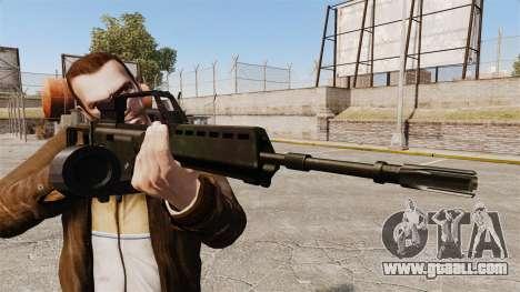 MG36 v1 H&K assault rifle for GTA 4 third screenshot