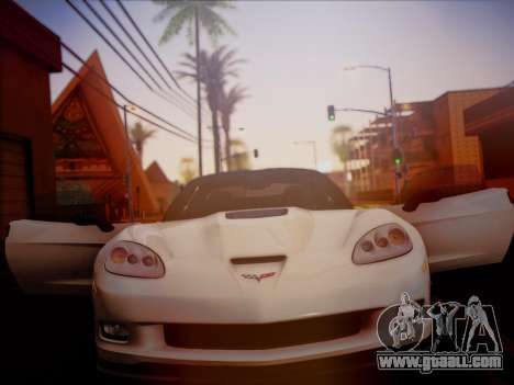 Chevrolet Corvette ZR1 2010 for GTA San Andreas right view