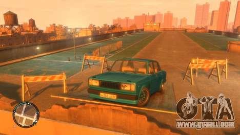 VAZ 2105 for GTA 4 back view