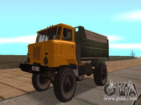 GAS-66 Truck for GTA San Andreas