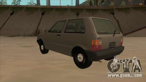 Fiat Uno 1995 for GTA San Andreas back view