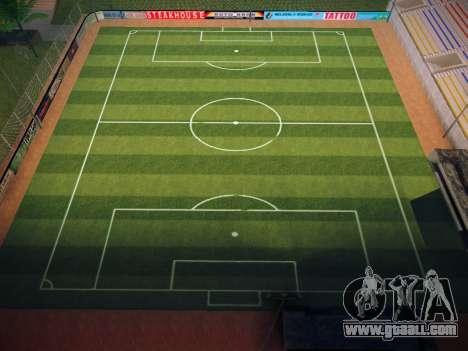 Soccer field for GTA San Andreas fifth screenshot