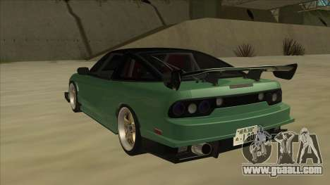 Nissan 180SX Uras GT for GTA San Andreas back view