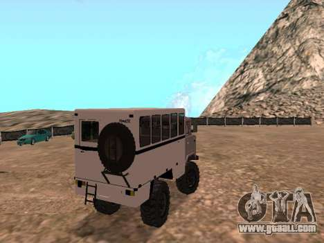 GAZ 66 Watch for GTA San Andreas right view