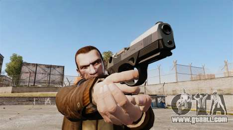 Beretta PX4 for GTA 4 second screenshot