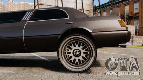Limo drag racing for GTA 4 back view