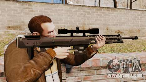 The DSR-1 sniper rifle for GTA 4