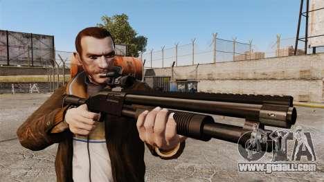 Tactical shotgun v1 for GTA 4 third screenshot