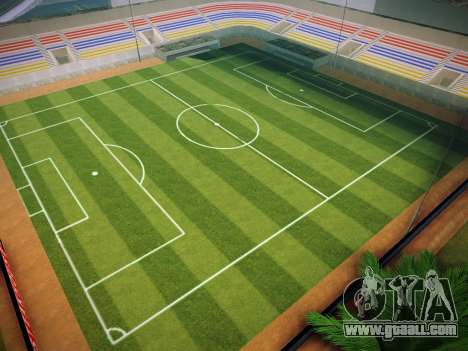 Soccer field for GTA San Andreas