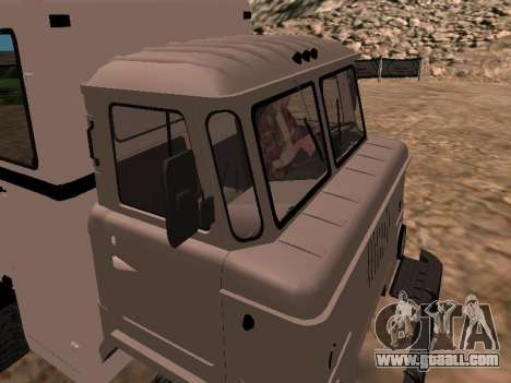 GAZ 66 Watch for GTA San Andreas inner view