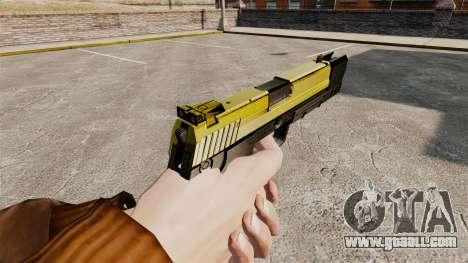 Self-loading pistol USP H&K v4 for GTA 4 second screenshot