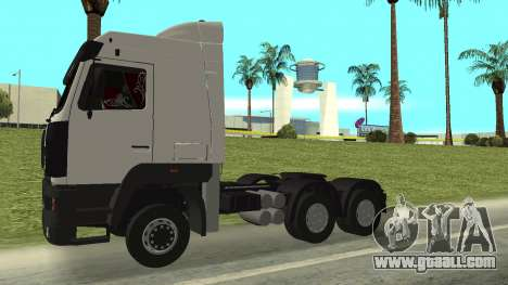 MAZ 5440 for GTA San Andreas right view