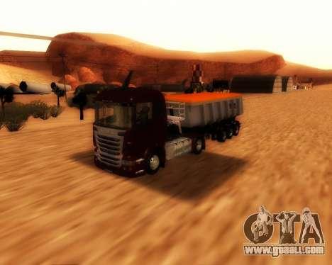 Trailer Schmitz Cargo Bull for GTA San Andreas right view
