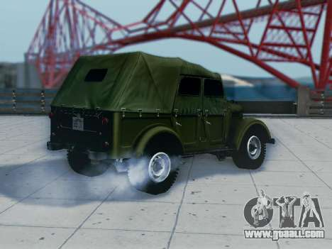 UAZ-69A for GTA San Andreas right view