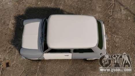 Mini Cooper S 1968 for GTA 4 right view