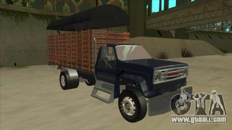 GMC C70 1980 for GTA San Andreas left view