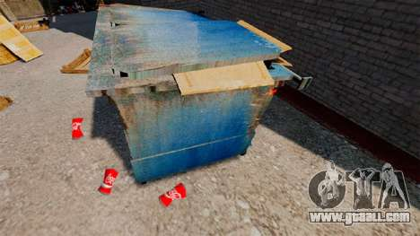 Wrinkled Bank Coca-Cola for GTA 4