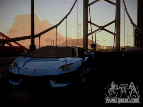 Lamborghini Aventador LP760-2 for GTA San Andreas upper view