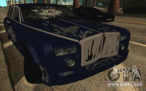 Rolls-Royce Phantom for GTA San Andreas engine