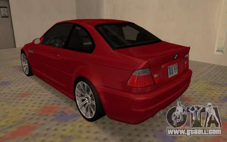 BMW M3 E46 2005 Body Damage for GTA San Andreas right view