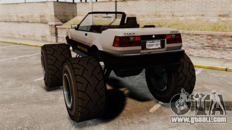 Futo Monster Truck for GTA 4