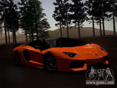 Lamborghini Aventador LP760-2 for GTA San Andreas side view