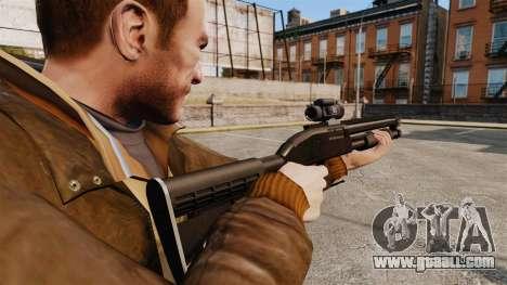 Tactical shotgun v1 for GTA 4 second screenshot